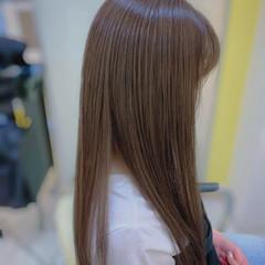 縮毛矯正 大人ロング ナチュラル ロング ヘアスタイルや髪型の写真・画像