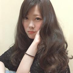 外国人風 パーマ ナチュラル グラデーションカラー ヘアスタイルや髪型の写真・画像