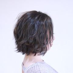 ボブ ショートボブ フェミニン 外国人風 ヘアスタイルや髪型の写真・画像