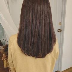 グラデーションカラー 大人ハイライト ストレート エレガント ヘアスタイルや髪型の写真・画像