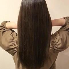フェミニン へアミルク トリートメント ロング ヘアスタイルや髪型の写真・画像