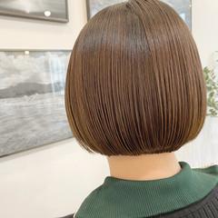 ショートボブ ミニボブ 小顔ショート ボブ ヘアスタイルや髪型の写真・画像
