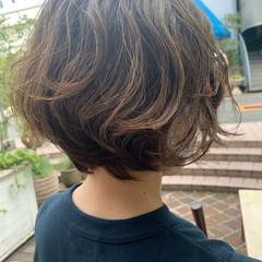 ナチュラル 大人ハイライト 大人可愛い 大人ヘアスタイル ヘアスタイルや髪型の写真・画像