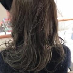 セミロング 圧倒的透明感 透明感カラー 外国人風カラー ヘアスタイルや髪型の写真・画像