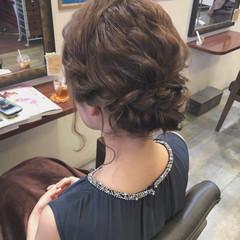 フェミニン 結婚式 ヘアアレンジ 成人式 ヘアスタイルや髪型の写真・画像