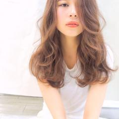 愛され 大人かわいい ゆるふわ ナチュラル ヘアスタイルや髪型の写真・画像