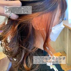 イルミナカラー 大人ハイライト 大人可愛い グラデーションカラー ヘアスタイルや髪型の写真・画像