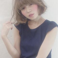大人かわいい 外国人風 ゆるふわ ガーリー ヘアスタイルや髪型の写真・画像