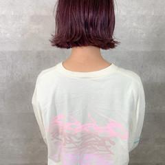 ショートボブ ミニボブ 切りっぱなしボブ ボブ ヘアスタイルや髪型の写真・画像