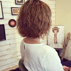 ストリート グラデーションカラー ハイライト パーマ ヘアスタイルや髪型の写真・画像