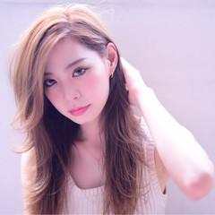 ブラウン 大人かわいい 外国人風 ガーリー ヘアスタイルや髪型の写真・画像