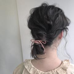 ミディアム ショート ラフ ウェーブ ヘアスタイルや髪型の写真・画像