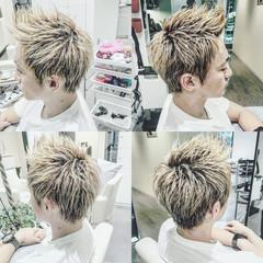 メンズ ボーイッシュ 坊主 ショート ヘアスタイルや髪型の写真・画像