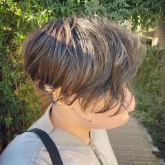 モード ショートパーマ ショートヘア ショート ヘアスタイルや髪型の写真・画像