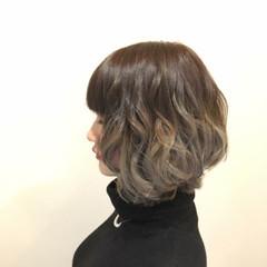 外国人風カラー 夏 春 フェミニン ヘアスタイルや髪型の写真・画像