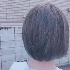 ショート ナチュラル 髪質改善トリートメント ヘアカラー ヘアスタイルや髪型の写真・画像