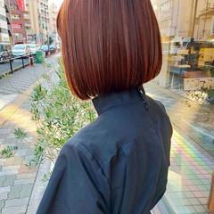 まとまるボブ ボブ 髪質改善トリートメント ナチュラル ヘアスタイルや髪型の写真・画像