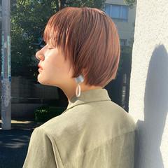 ショート ショートヘア ミニボブ モード ヘアスタイルや髪型の写真・画像