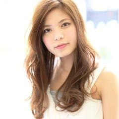 愛され フェミニン モテ髪 大人かわいい ヘアスタイルや髪型の写真・画像