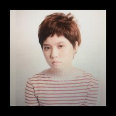 モード 外国人風 大人かわいい 簡単ヘアアレンジ ヘアスタイルや髪型の写真・画像