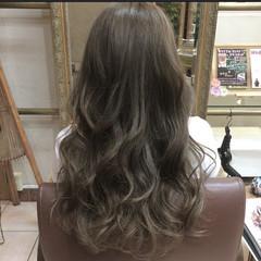グラデーションカラー 黒髪 外国人風カラー ロング ヘアスタイルや髪型の写真・画像