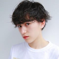 ショートボブ パーマ 外国人風 ショート ヘアスタイルや髪型の写真・画像