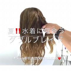 ヘアアレンジ デート 梅雨 上品 ヘアスタイルや髪型の写真・画像