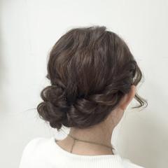 大人かわいい 波ウェーブ ヘアアレンジ フェミニン ヘアスタイルや髪型の写真・画像