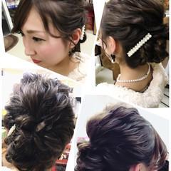 フェミニン パーティ 愛され ゆるふわ ヘアスタイルや髪型の写真・画像
