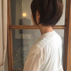 かっこいい ショートボブ モード ナチュラル ヘアスタイルや髪型の写真・画像