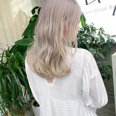 ナチュラル 最新トリートメント 透明感 透明感カラー ヘアスタイルや髪型の写真・画像