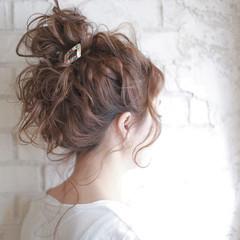 結婚式 夏 ヘアアレンジ パーティ ヘアスタイルや髪型の写真・画像