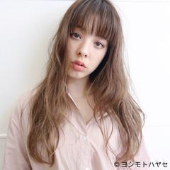 フェミニン リラックス 外国人風カラー セミロング ヘアスタイルや髪型の写真・画像