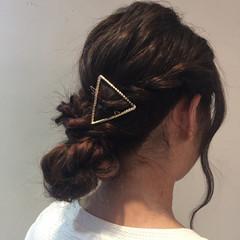 女子会 ロング デート 簡単ヘアアレンジ ヘアスタイルや髪型の写真・画像