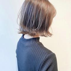 ナチュラル ミニボブ ブリーチなし ボブ ヘアスタイルや髪型の写真・画像