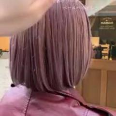 モード ゆるふわ グラデーションカラー 大人かわいい ヘアスタイルや髪型の写真・画像