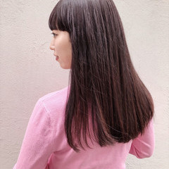 ブラウン ナチュラル 女子力 エレガント ヘアスタイルや髪型の写真・画像