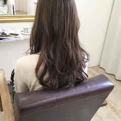 秋 ハイライト 透明感 ロング ヘアスタイルや髪型の写真・画像