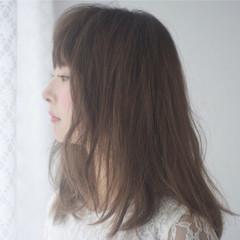 ハイライト グラデーションカラー ガーリー ピュア ヘアスタイルや髪型の写真・画像