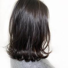モード ボブ 冬 無造作 ヘアスタイルや髪型の写真・画像