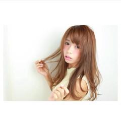 大人女子 ワンカール ゆるふわ ストレート ヘアスタイルや髪型の写真・画像