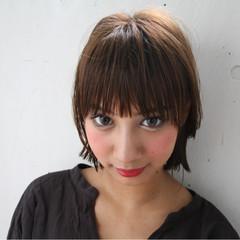 渋谷系 前髪あり アッシュ ガーリー ヘアスタイルや髪型の写真・画像