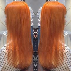 外国人風 渋谷系 ハイライト ガーリー ヘアスタイルや髪型の写真・画像