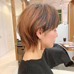 ウルフカット ウルフ女子 ショート ナチュラルウルフ ヘアスタイルや髪型の写真・画像