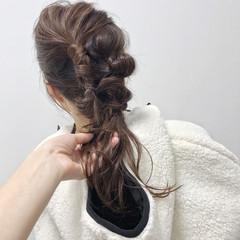 福岡市 大人女子 ロング ヘアアレンジ ヘアスタイルや髪型の写真・画像