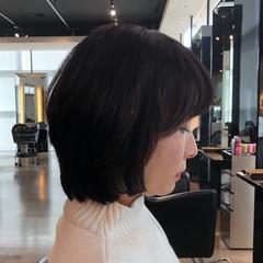 ショート 艶髪 フェミニン お手入れ簡単!! ヘアスタイルや髪型の写真・画像