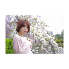 大人かわいい 春 ナチュラル かわいい ヘアスタイルや髪型の写真・画像