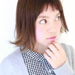 ラフ モード 外国人風 ボブ ヘアスタイルや髪型の写真・画像