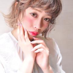 外国人風カラー 透明感 グラデーションカラー ヘアアレンジ ヘアスタイルや髪型の写真・画像