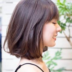 大人女子 デート グレージュ オフィス ヘアスタイルや髪型の写真・画像
